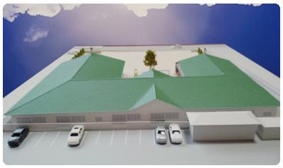 新園舎模型